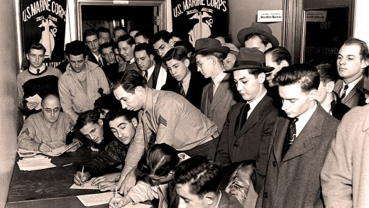 Enlisting =- December 9, 1941