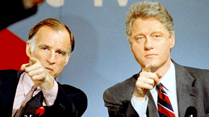 Gerry Brown - Bill Clinton - New Hampshire '92