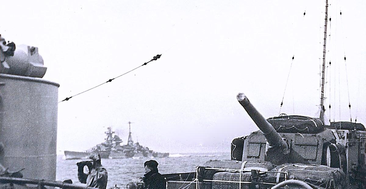 Battleship Admiral Tirpitz - 1942
