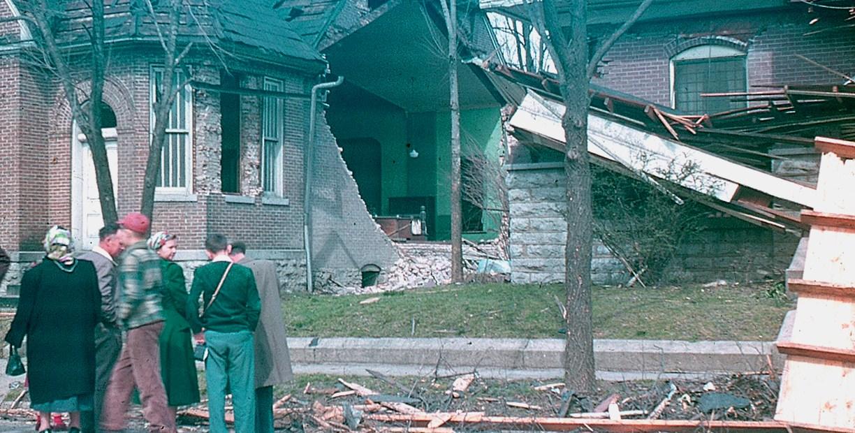 Fayetteville - Tornado Aftermath - March 23, 1952