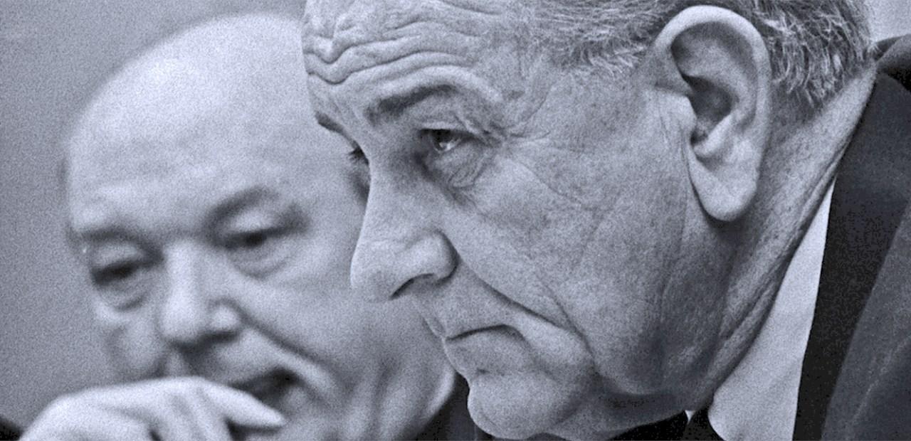 President Johnson (and Dean Rusk) - 1967