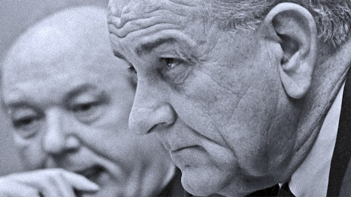 President Johnson (and Dean Rusk) - 1967
