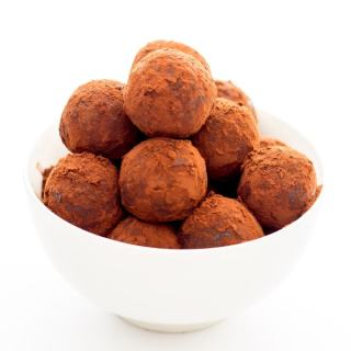 Healthy Chocolate Rum Balls