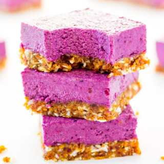 Raw Vegan BlackBerry Cheesecake
