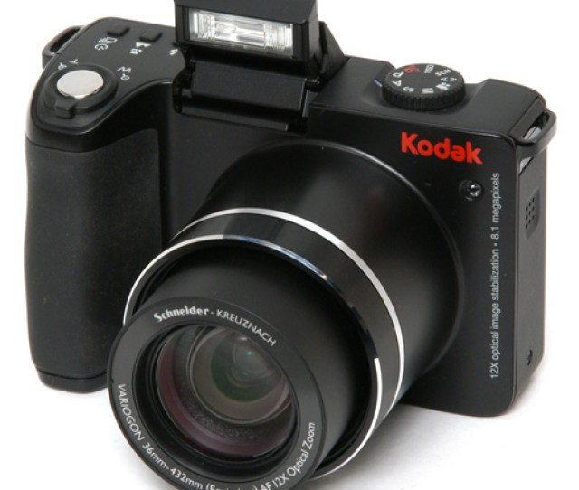 Kodak Easyshare 8 1mp Digital Camera 12x Optical Zoom Z8612 Is