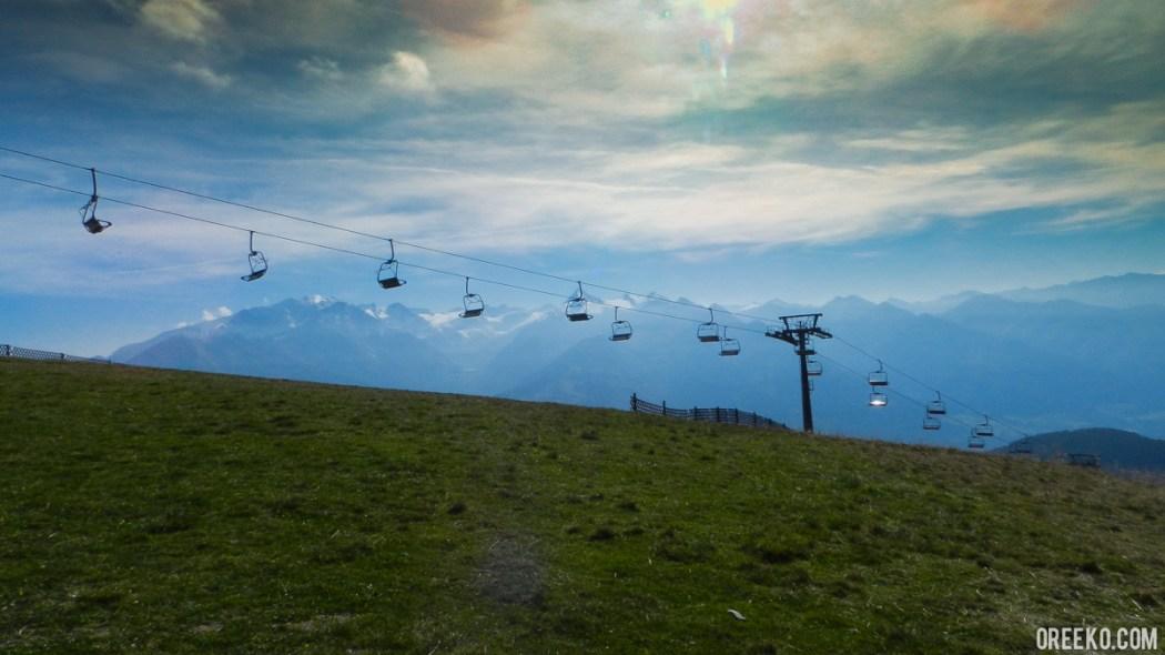 Hinking On the Schmittenhöhe Mountains, Austria (1 of 13)