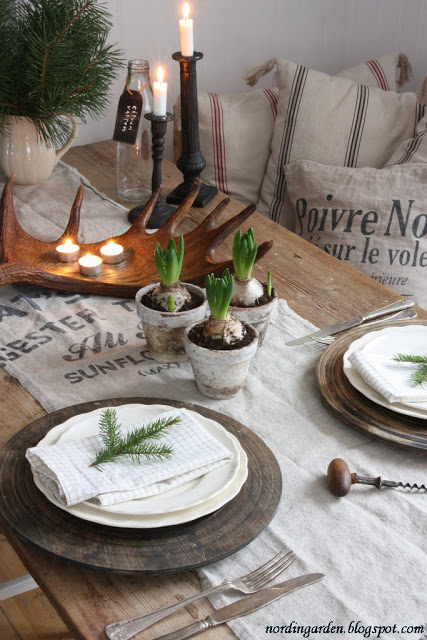 Nordic Table Setting by nordingarden via oreeko.com