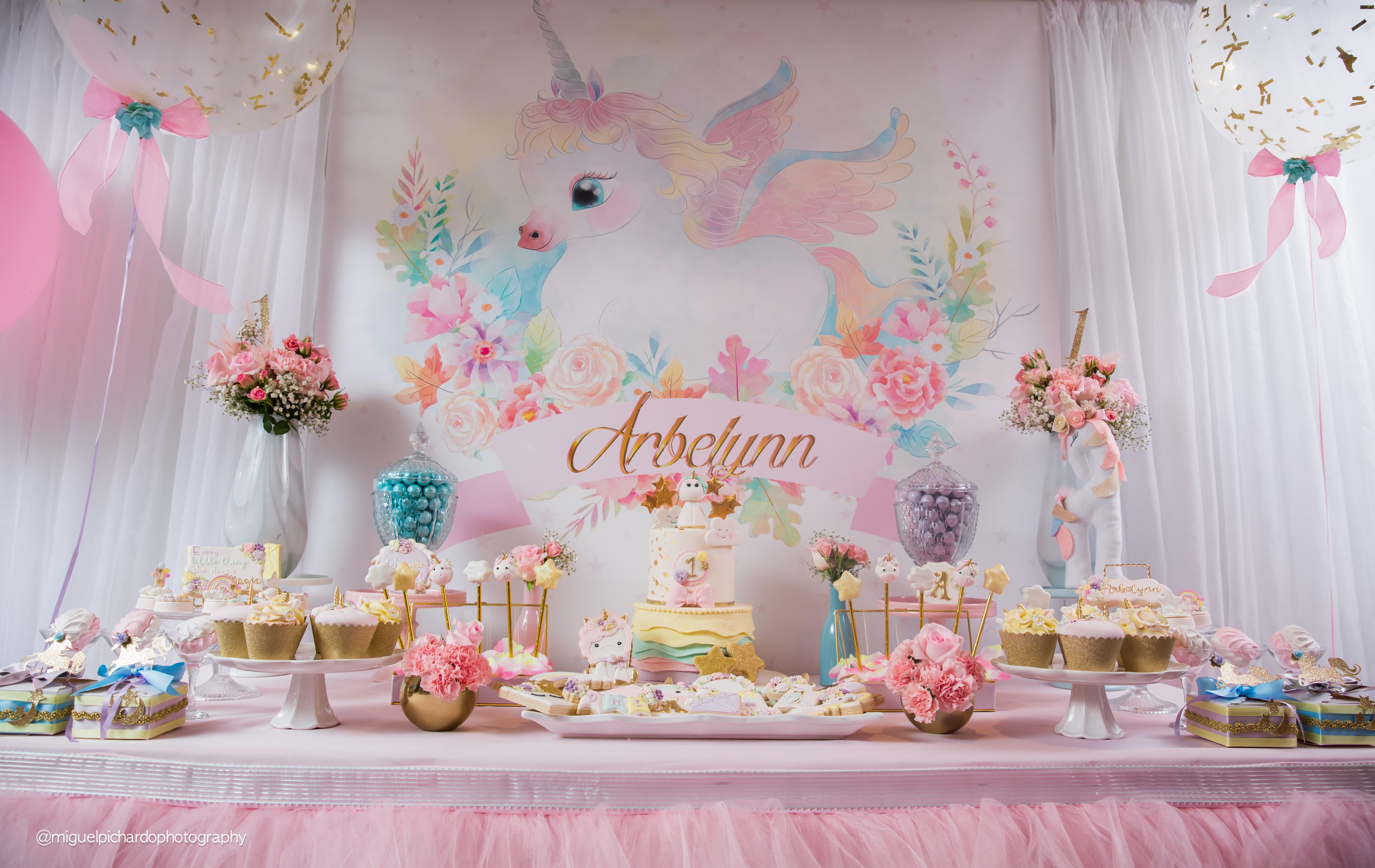 Baby First Birthday Cake Decorating Ideas