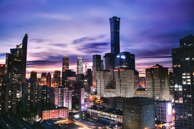 "High-rise buildings in China, the setting for ""The Farewell,"" one of this year's Sundance films."