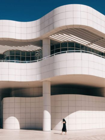 The Getty Museum in Los Angeles, CA