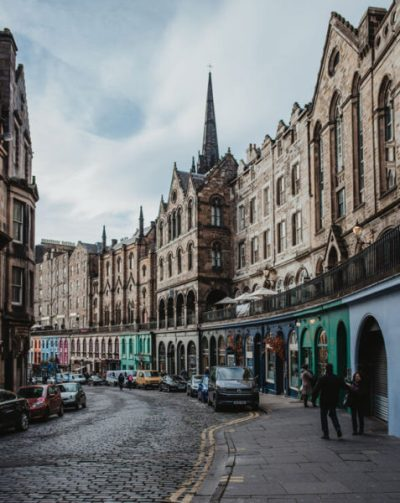 Victoria Street in Edinburgh