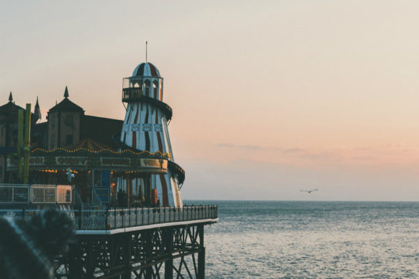 Brighton is one of the U.K.'s best beach destinations, especially in May.