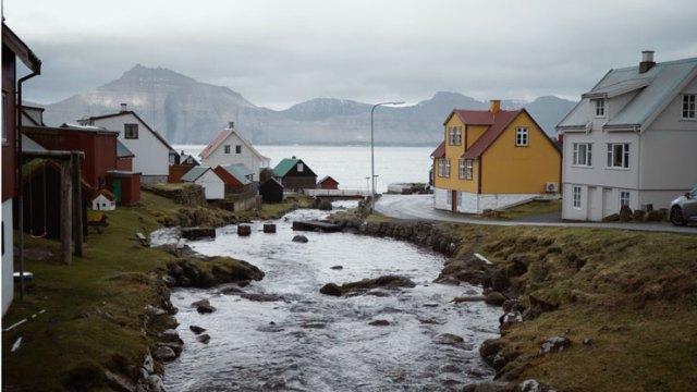 A town in the Faroe Islands