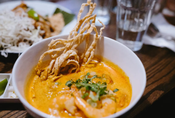 An unusual and exotic dish at a Toronto restaurant.