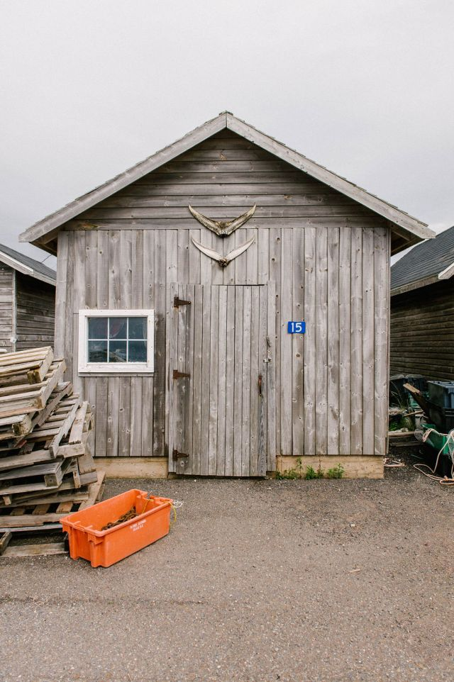 a seafood shack on prince edward island.