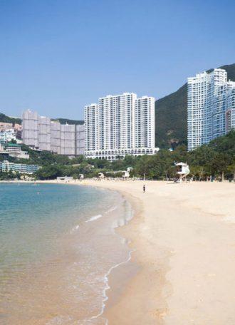 Repulse Bay Beach on Hong Kong Island's Southside