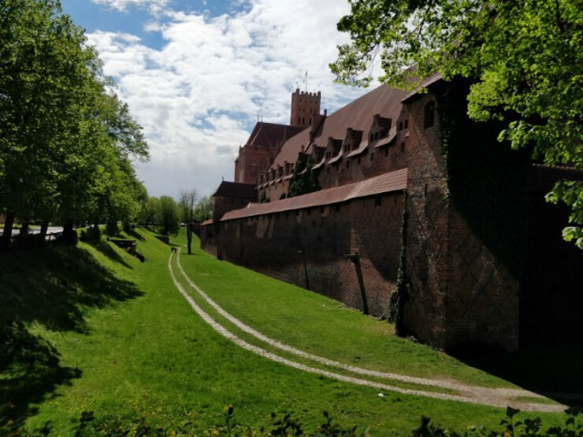 Castle of the Teutonic Order in Malbork, Poland