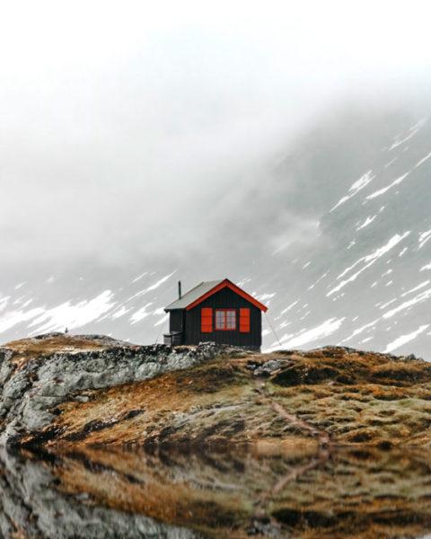A house in Lofoten, Norway