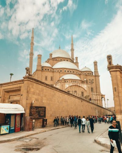 the Mosque of Muhammed Ali in Cairo