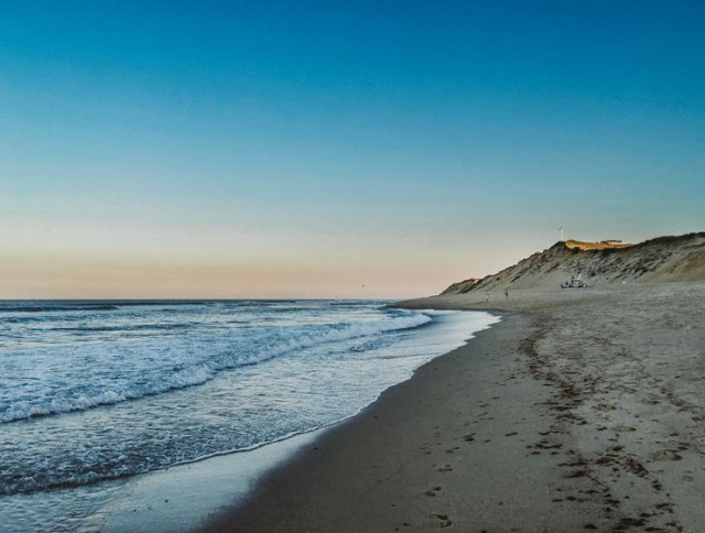 The National Seashore at sunset