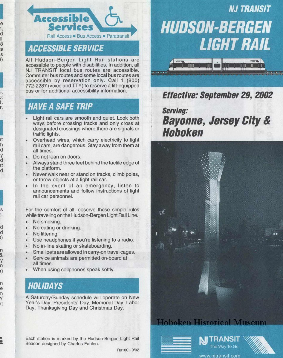 Nj Transit Light Rail Schedule