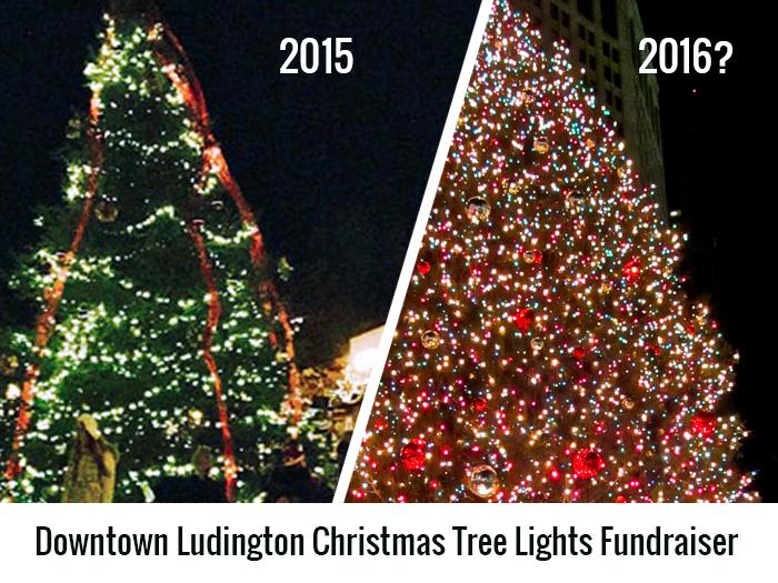 Projects Downtown Ludington Christmas Tree Lights Patronicity