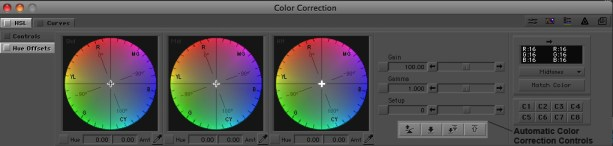 Color correction in Avid Media Composer