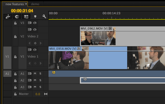 Match Frame in Premiere Pro