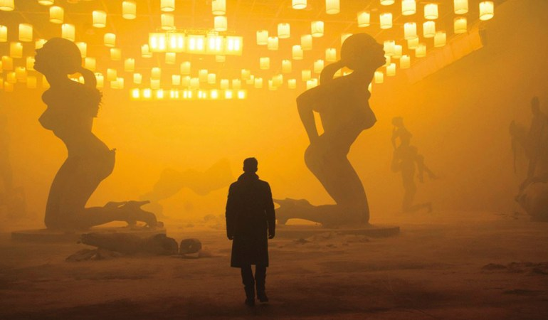 Shot from Blade Runner 2049, apocalyptic Las Vegas