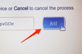 Click Add button.