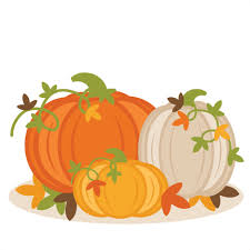 Picture of three pumpkins