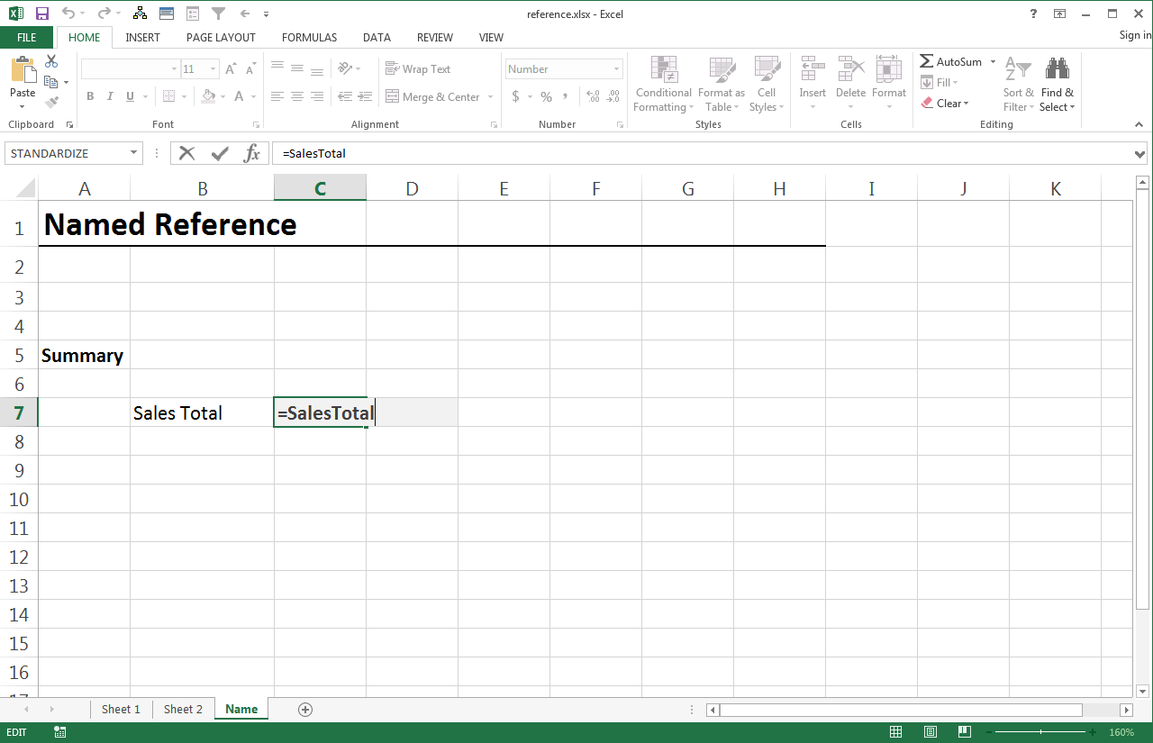 How To Put Variables In Cell Location Excel