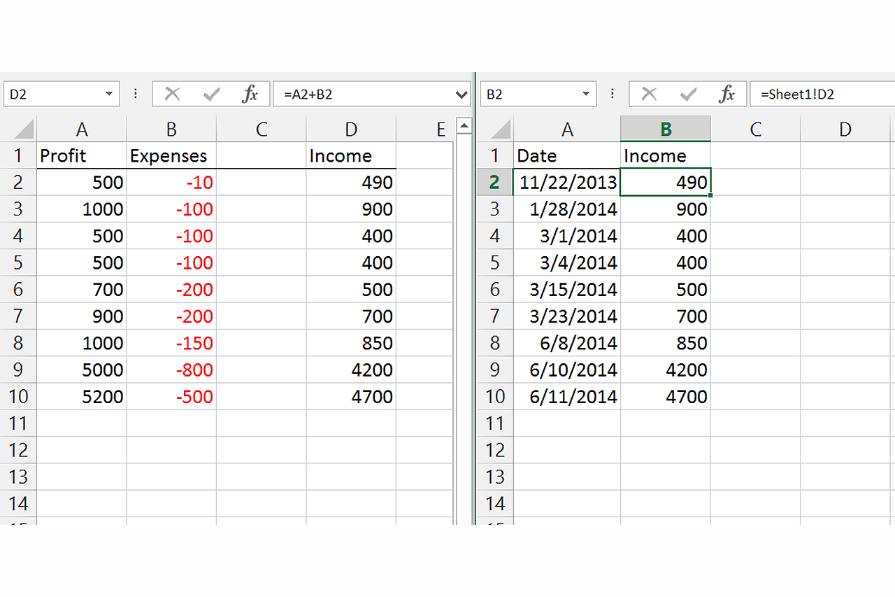Linking Multiple Workbooks In Excel