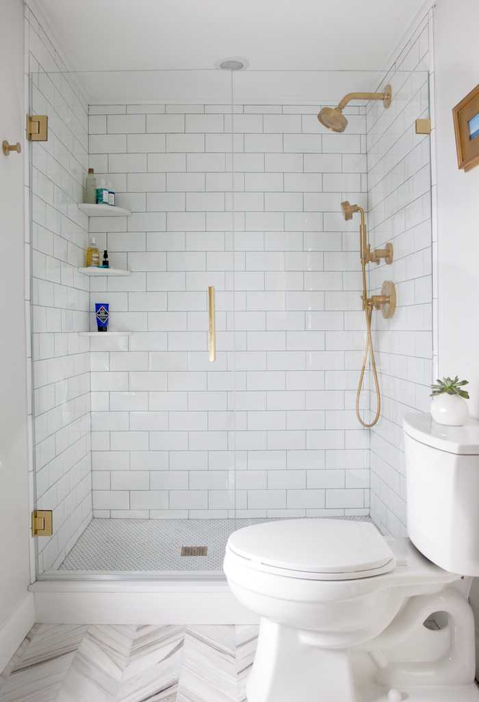 12 Inspiring Walk In Showers For Small Bathrooms Hunker