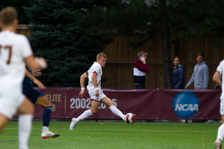Kellett's 90th-Minute Equalizer Helps Eagles to Draw With No. 18 Hokies