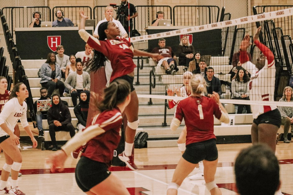Eagles Rally Past Harvard in Five-Set Thriller