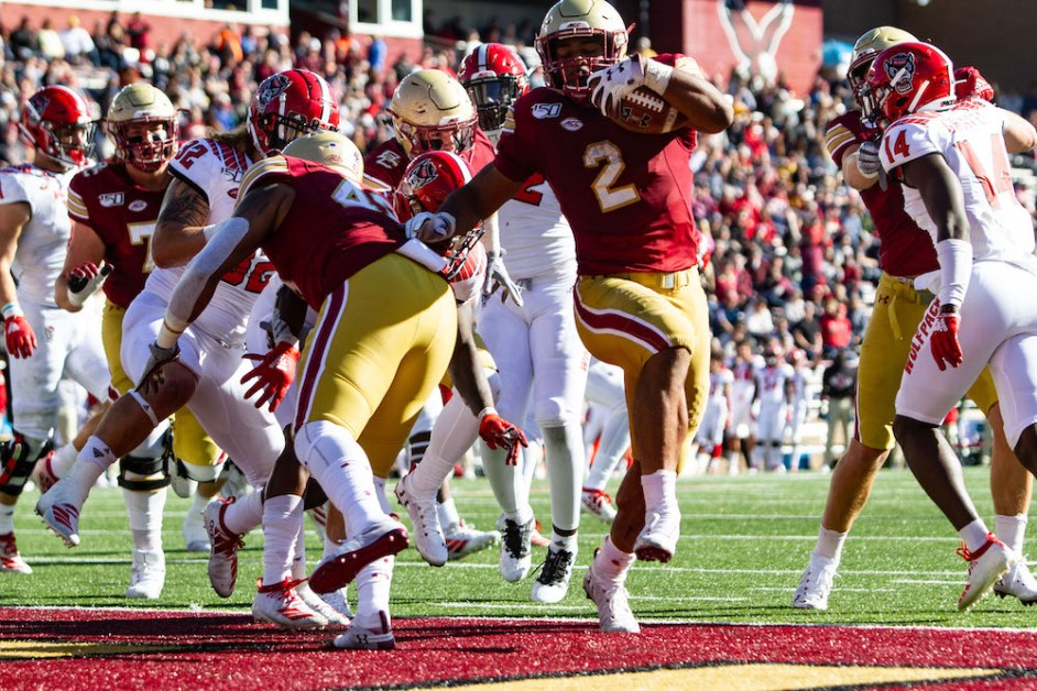 Eagles Face Difficult Path to Bowl Eligibility in Final Five Games