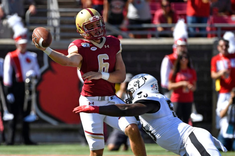 With Brown's Injury in Question, Grosel Expected to Lead Unproven QB Room