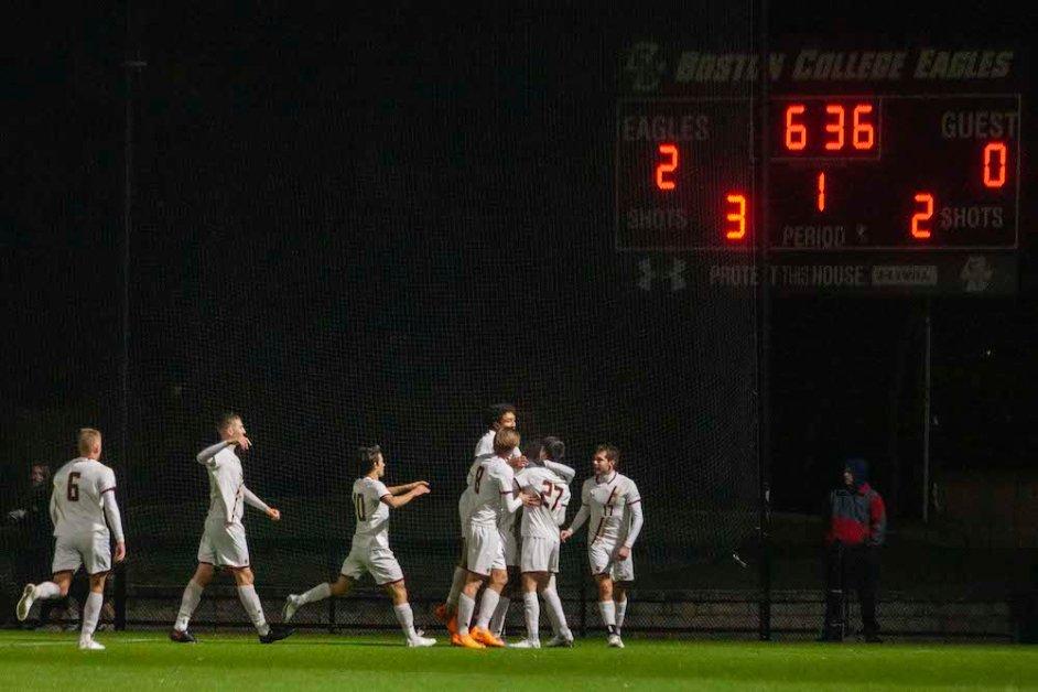 Eagles Advance in NCAA Tournament, Blank Yale