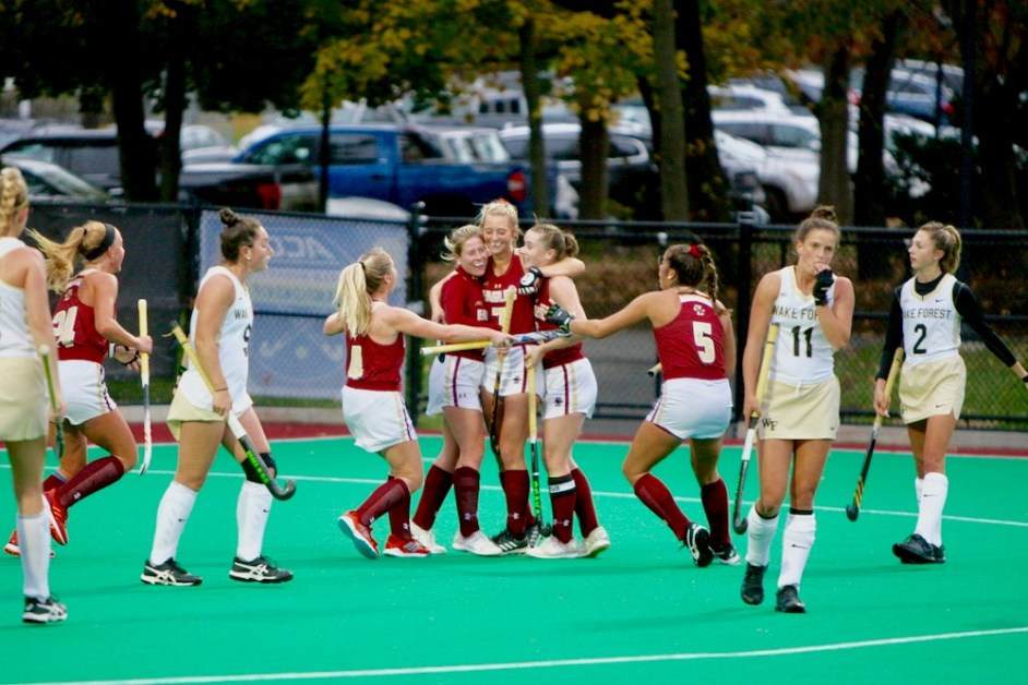 Eagles Advance to ACC Semis With Shutout of Wake Forest