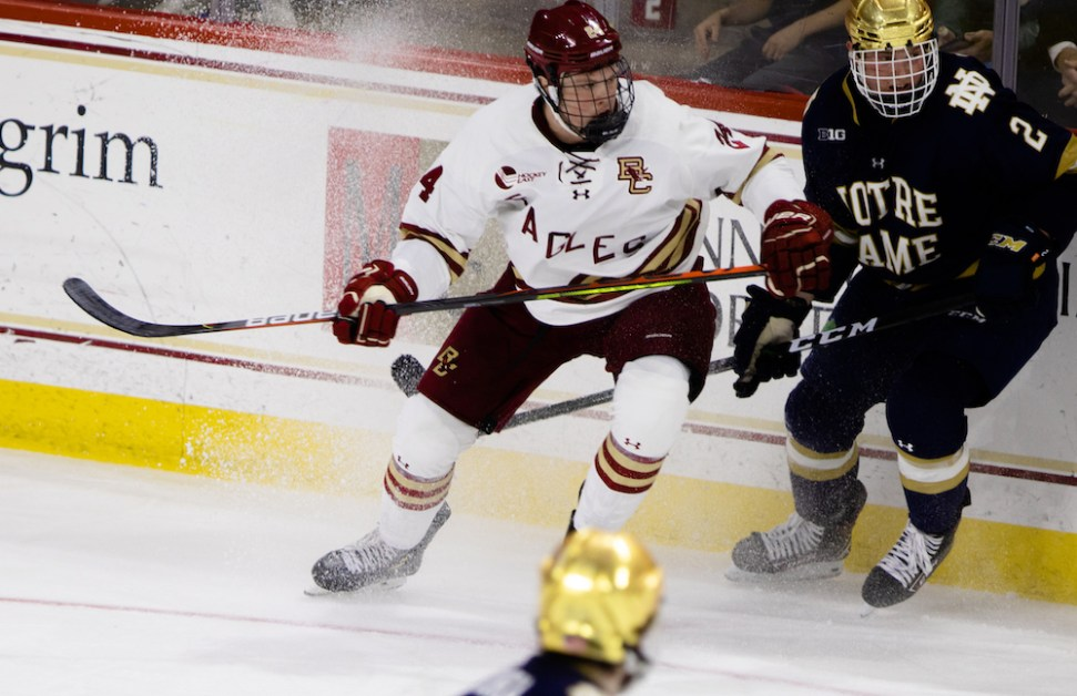 Eagles Stay on Nine-Game Hot Streak Behind Two Goals From McBain