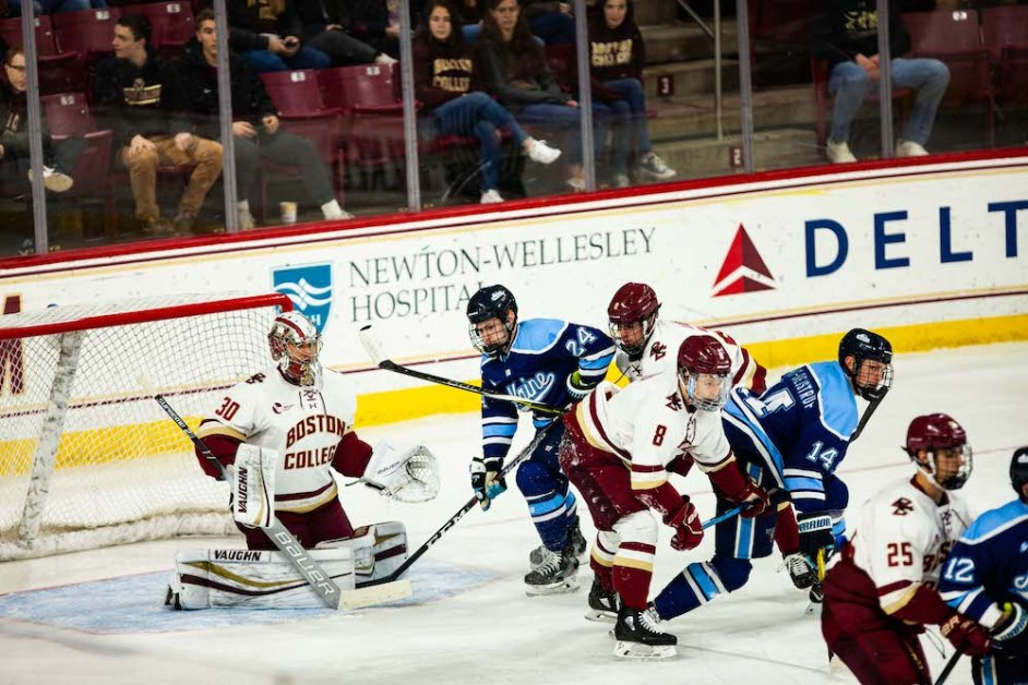 Eagles Upset in OT by Maine for the Second Night in a Row