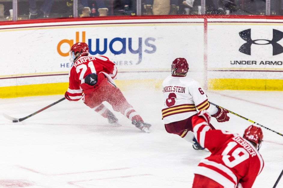 Eagles Top Terriers in Sold Out Battle of Comm. Ave.