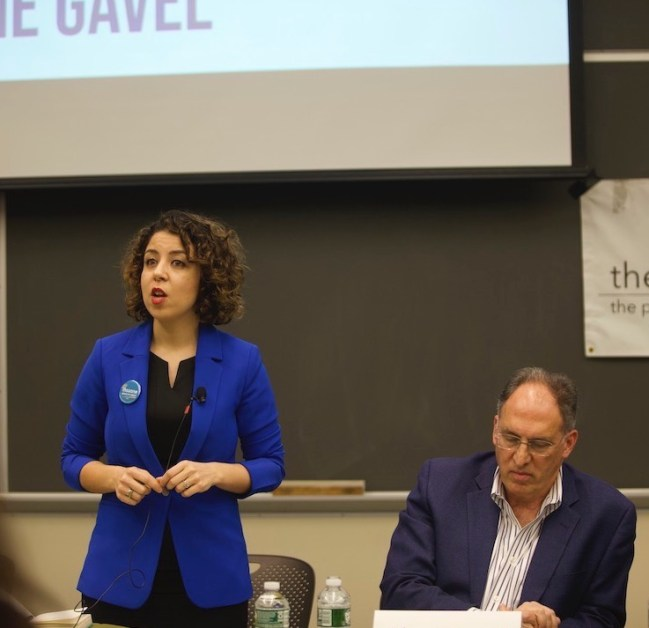 Democratic House Candidates Debate at BC