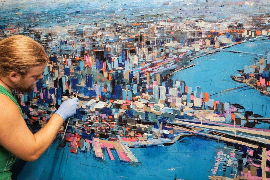 Artist Adam O'Day Finds Inspiration in Boston