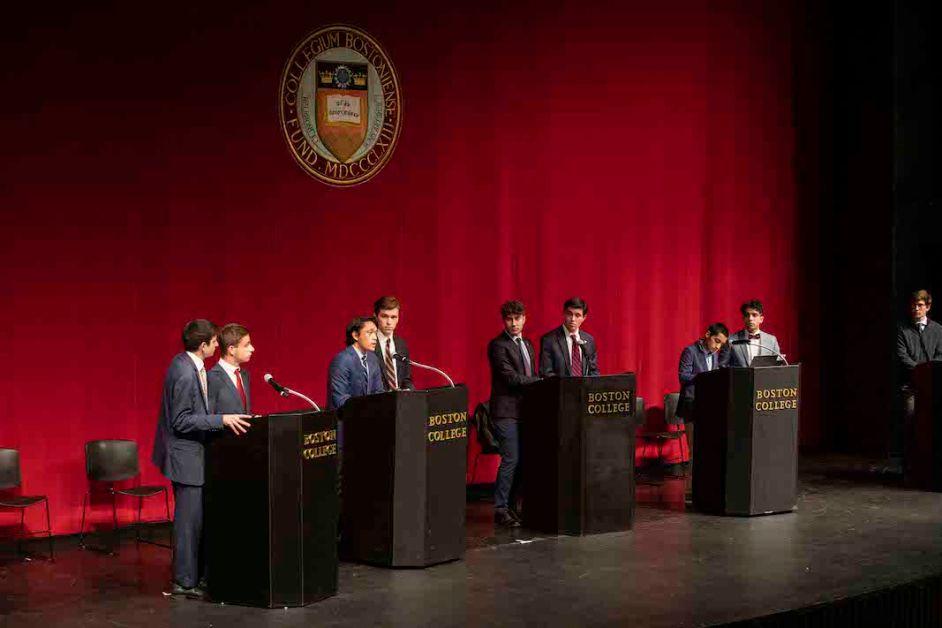 UGBC Holds Final Presidential Debate