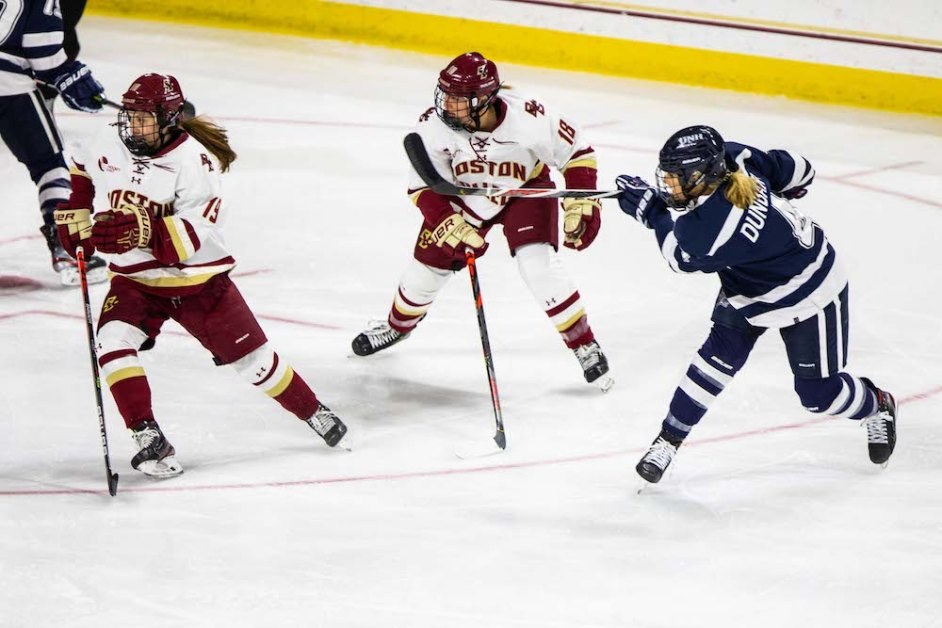 Eagles Fall to New Hampshire on Senior Day