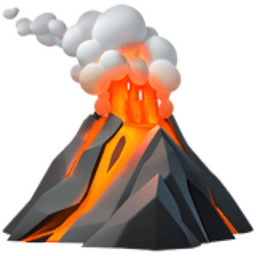 Bilderesultat for lava emoji
