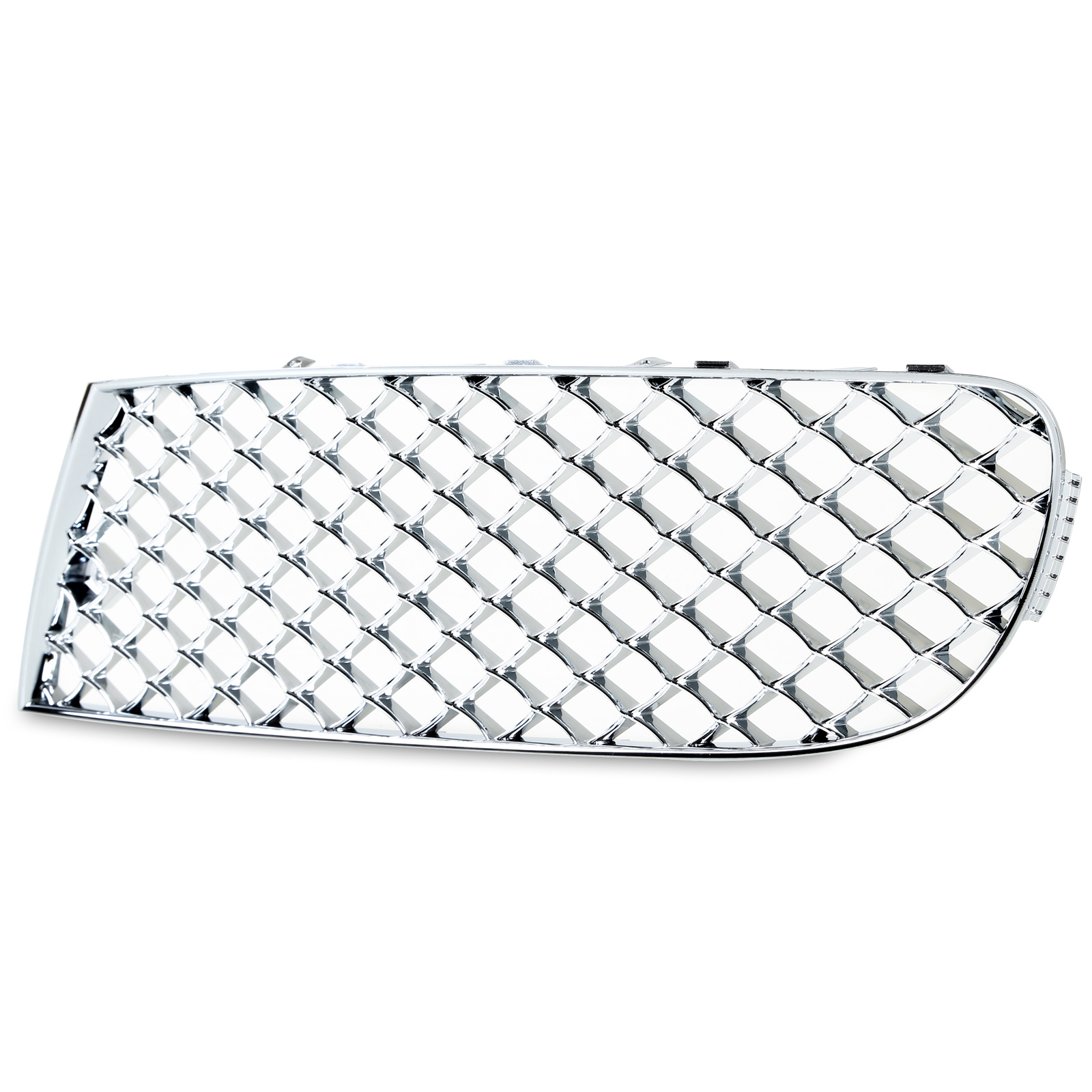 Chrome Mesh Front Bumper Lower Grille For Bentley
