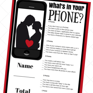 What's On Your Phone!
